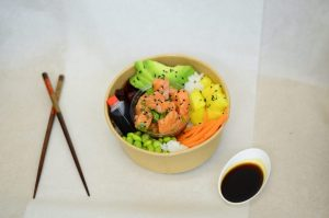 Poke Bowl Saumon Sesame So'Nigiri