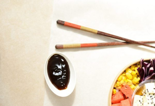La sauce japonaise pour accompagner vos poke bowl