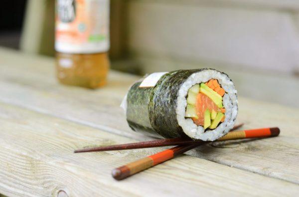 Sushi Burritos au saumon
