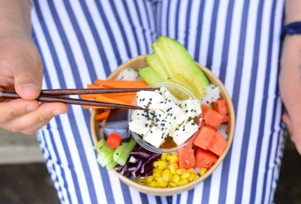 Déjeuner Poke Bowl végétarien