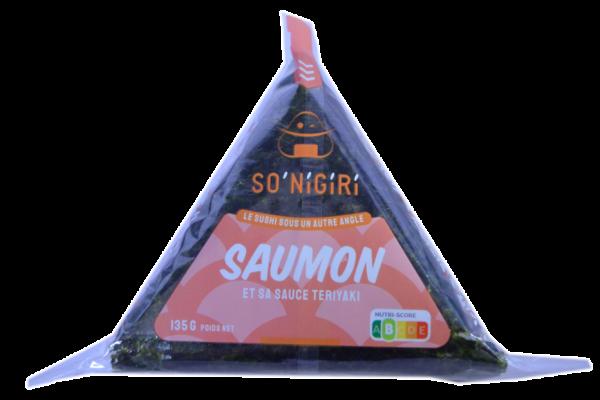 SO'NiGiRi Saumon et sa sauce teriyaki EAN 3775000099923 détouré