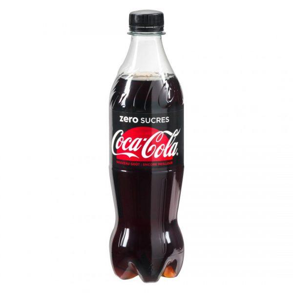 Photo de bouteille de Coca Cola Zero