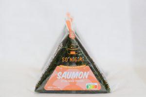 Trio D'Onigiris Au Saumon Et Sa Sauce Teriyaki