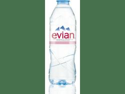 Photo de bouteille d'eau Evian